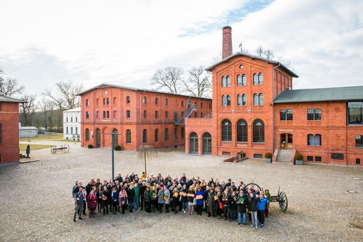 Gruppenfoto Teilnehmer Biolebensmittelcamp