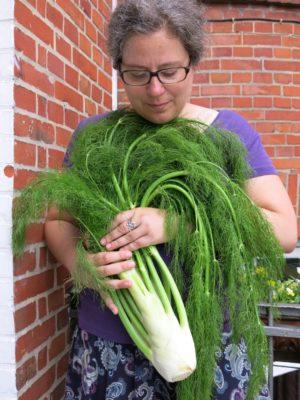 Sabine Schlimm, Texte über Gemüse und mehr