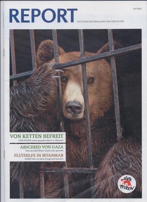 Artikel für die Fördererzeitschrift einer Tierschutzstiftung